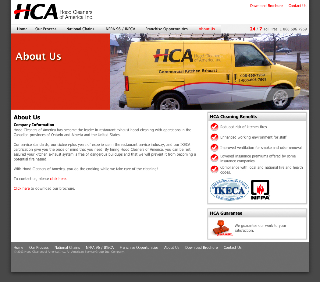 HCA Canada about