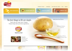 Frito Lay home image