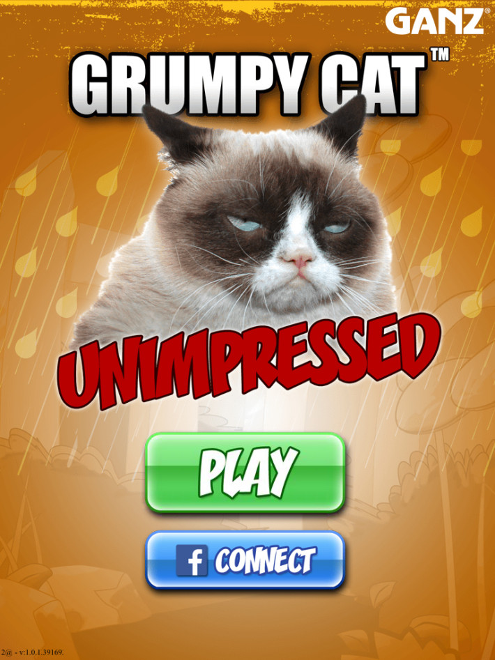 Grumpy Cat Unimpressed