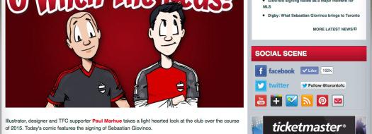 O When The Reds! Toronto FC