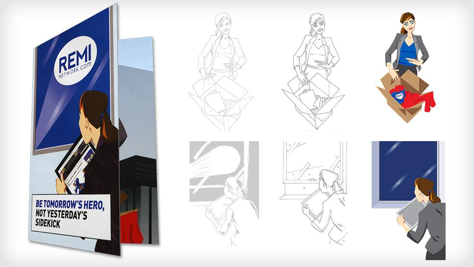 MediaEdge illustrations