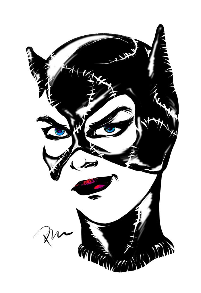 Catwoman by Marhue