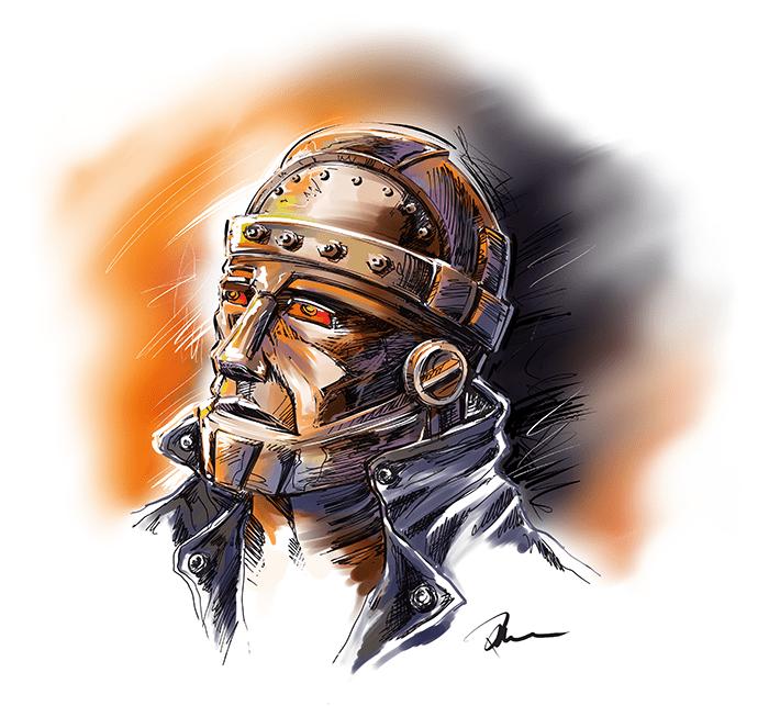 Robotman by Marhue