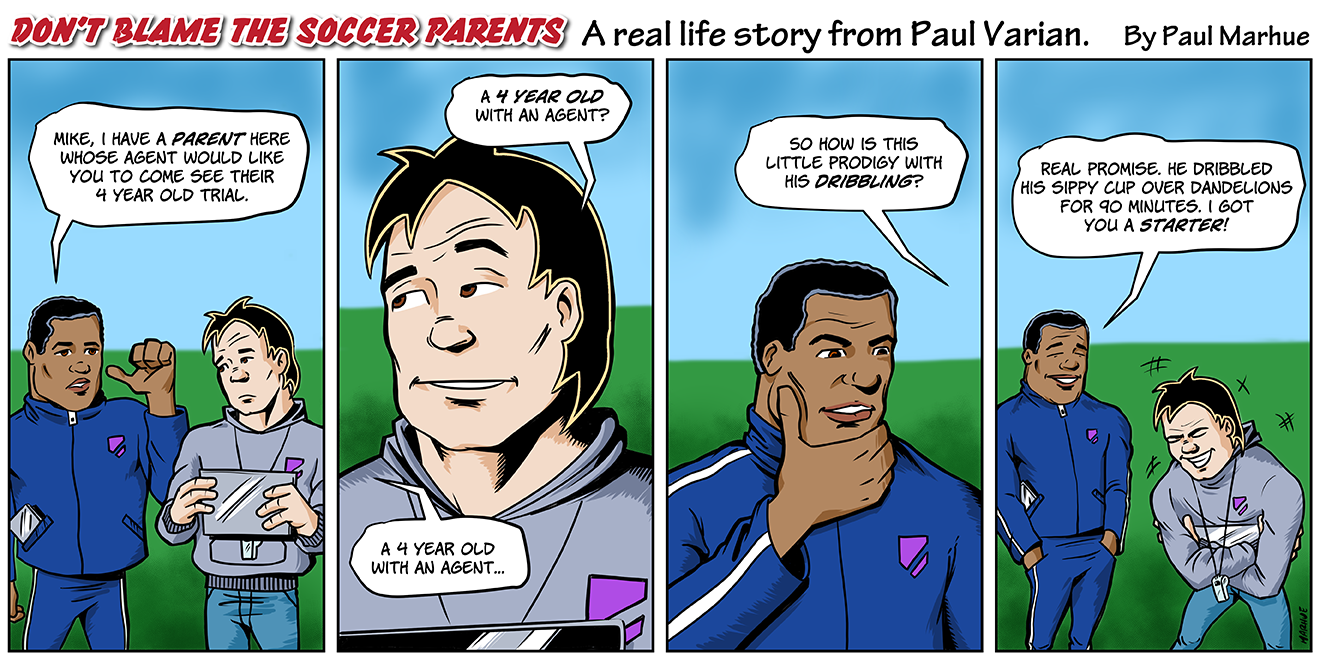 Don't Blame the Soccer Parents - Episode 1 Drawing by Marhue