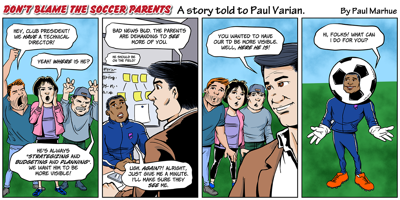 Don't Blame the Soccer Parents - Episode 2 Drawing by Marhue